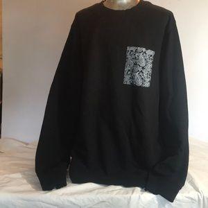 """FOREVER 21 MEN"" Black Sweatshirt ."